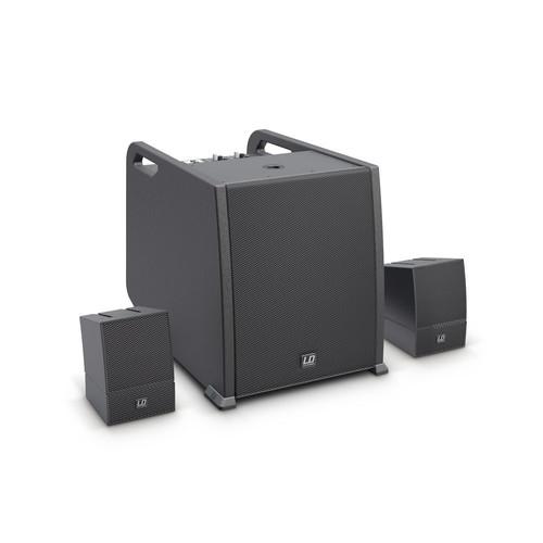 LD Systems CURV 500 AVS Portable Array System AV Set Including Speaker Cables