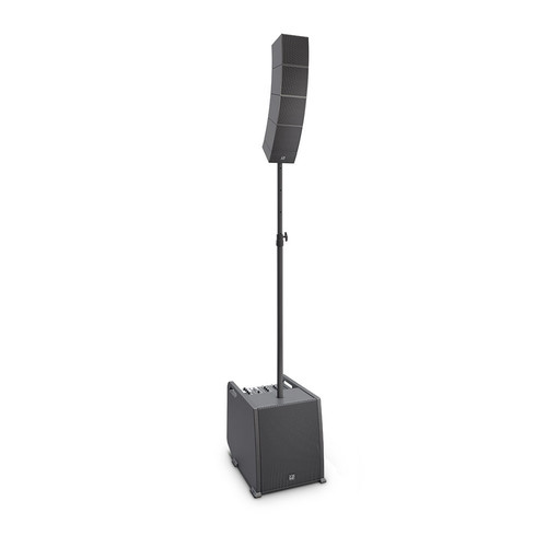 LD Systems CURV 500 ES Portable Array System Entertainer Set w/Distance Bar & Speaker Cable