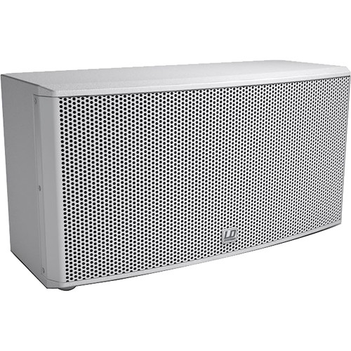 """LD Systems CURV 500 iSub 10"""" 200W Passive Installation Subwoofer (White)"""
