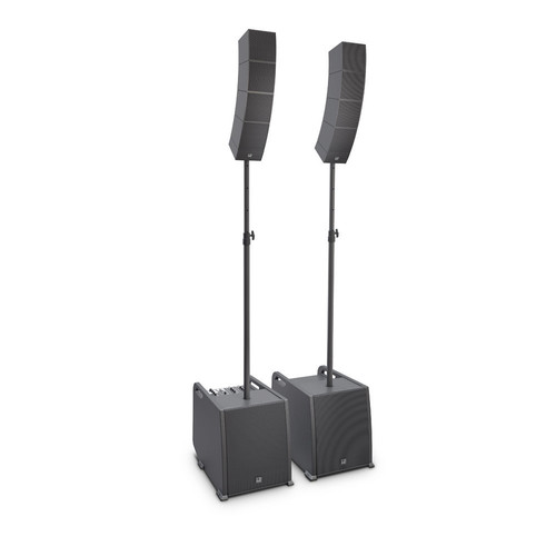 LD Systems CURV 500 PS Portable Array System Power Set w/Distance Bars & Speaker Cables