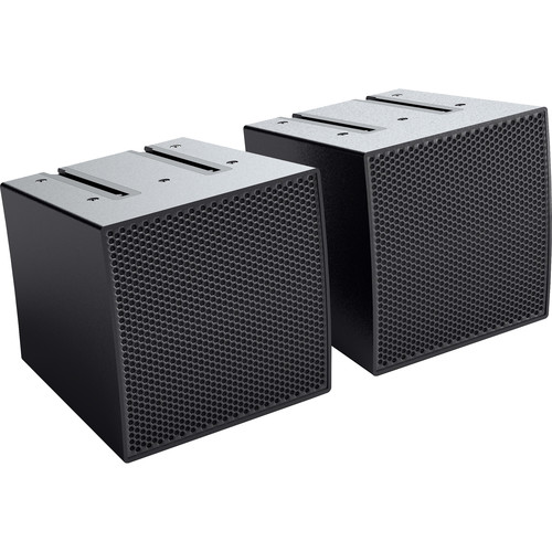 LD Systems 2 - Array Satellites for CURV 500 Portable Array System (Black)