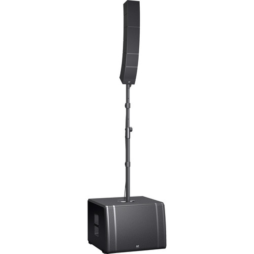 "LD Systems Portable Touring Array System-2KW Peak (25 Premium Transducers, 15"" Subwoofer, Waveahead Technology)"