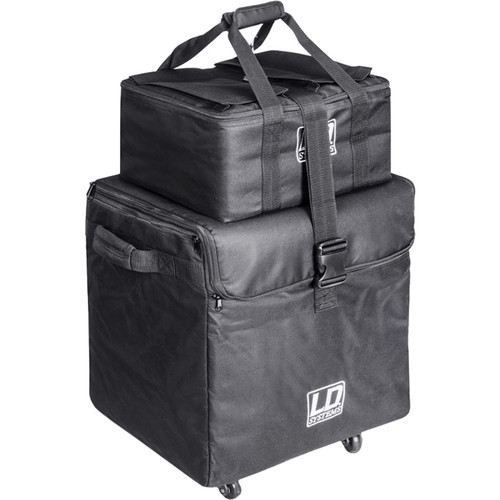 LD Systems Transport Bags and Casters for Dave8 Systems