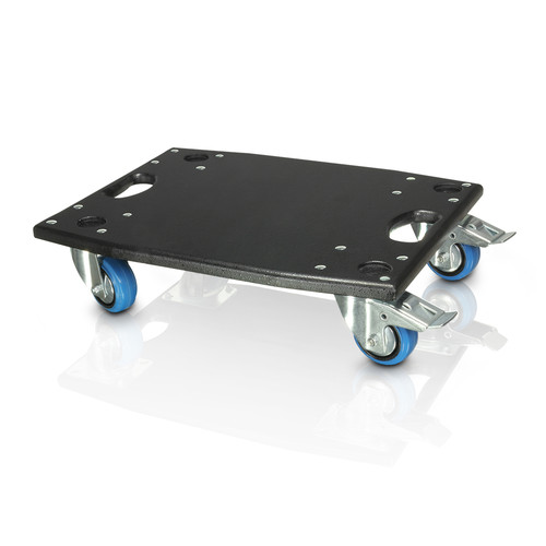 LD Systems LDM28CB Caster Board for Maui 28 Active PA System (Black)