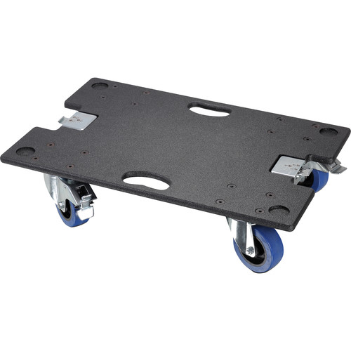 LD Systems Caster Board for Maui 44 Sub and Maui 44 Sub Ext - with Butterfly Latches (Black)