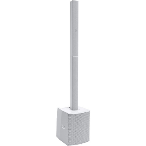 """LD Systems Powered-Install Column PA System-2000WP/2x8""""Sub/16x3""""Mids/2x1""""HF/4 Channel Mixer/Bluetooth(White)"""