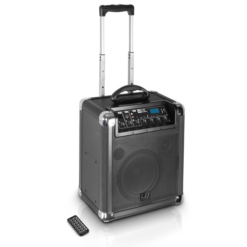 LD Systems Roadjack 10 Battery-Powered Bluetooth Loudspeaker with Mixer