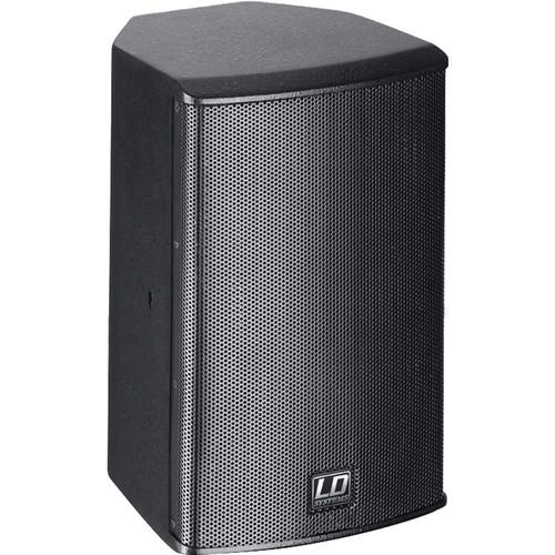 "LD Systems Powered Installation Speaker - 6.5""LF/1""HF / 100W / 60 X 60 Dispersion (Black)"