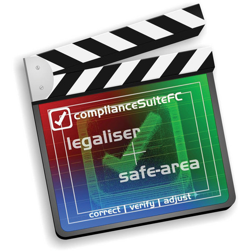 Leader legalEyesFC Multi-Rate Legaliser Plug-In for Final Cut Video Editing Software