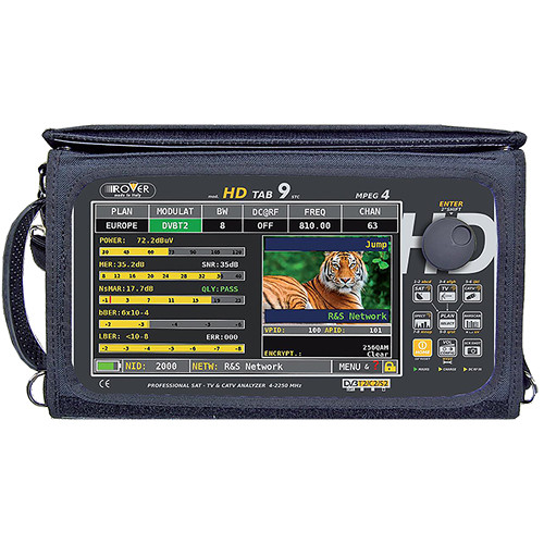 "Leader 9"" Rover Professional HD Touch Screen Analyzer"