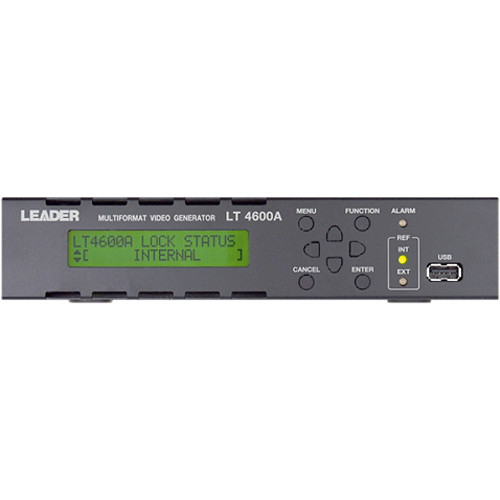 Leader Multi Format Video Sync Generator with 3G-SDI Capabilities