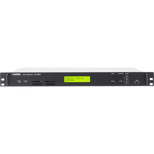 Leader 3G/HD/SD Multi-Format Video Sync Generator (1 RU)