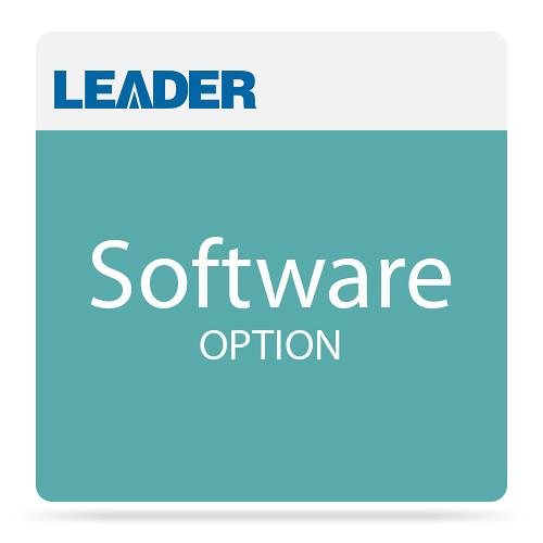 Leader NTP Server Support Software Option for LT8900 Video Sync Generator