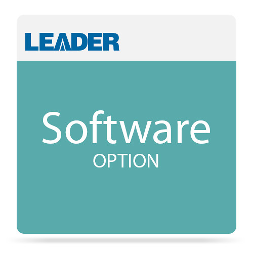 Leader SNMP Support Software Option for LT8900 Video Sync Generator