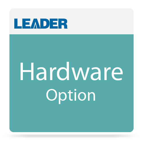 Leader T8910-OP06 Black Burst Monitor and Changeover Board for LT8910 Auto Changeover