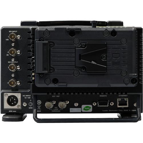 Leader IDX Battery Mount for LV-5300 Waveform Monitor