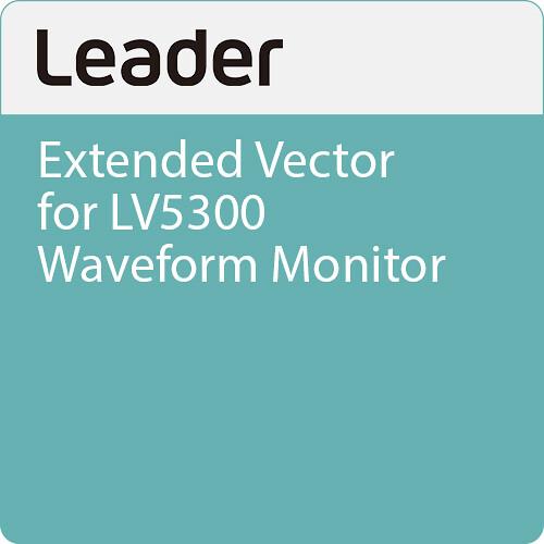 Leader Extended Vector for LV5300 Waveform Monitor