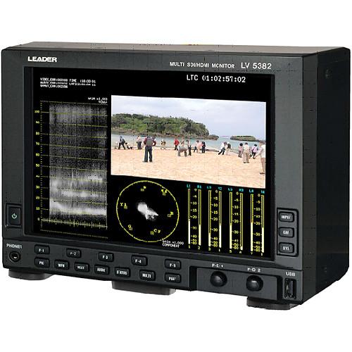 """Leader 8.4"""" LV5382 Multi SDI/HDMI Portable Waveform Monitor"""