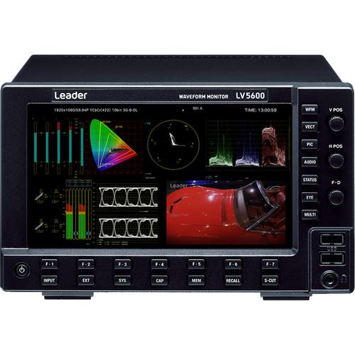 Leader LV-5600 Waveform Monitor - SDI and IP Signals