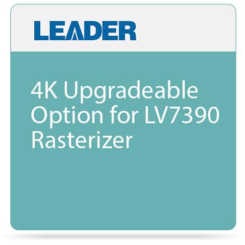 Leader 4K Upgradeable Option for LV7390 Rasterizer