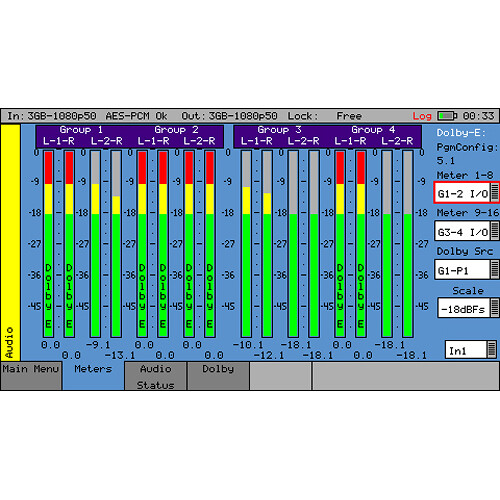 PHABRIX Dolby E Generation for PHABRIX SxD, SxA, and SxE