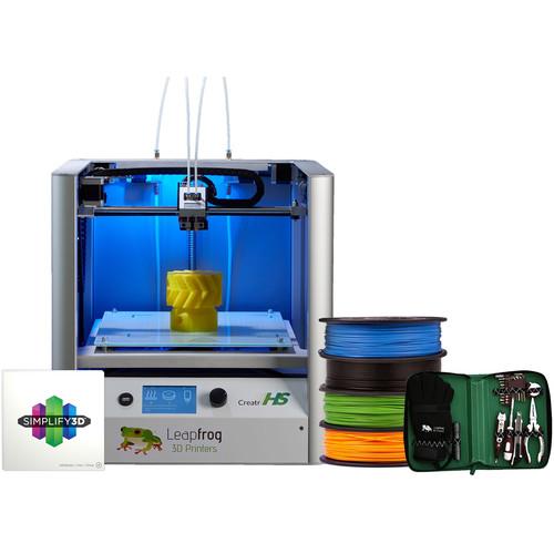 Leapfrog Creatr HS 3D Printer Starter Pack