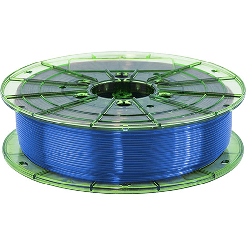 Leapfrog 1.75mm MAXX PRO Recycled PET-G 3D Printer Filament (750g, Translucent Blue)