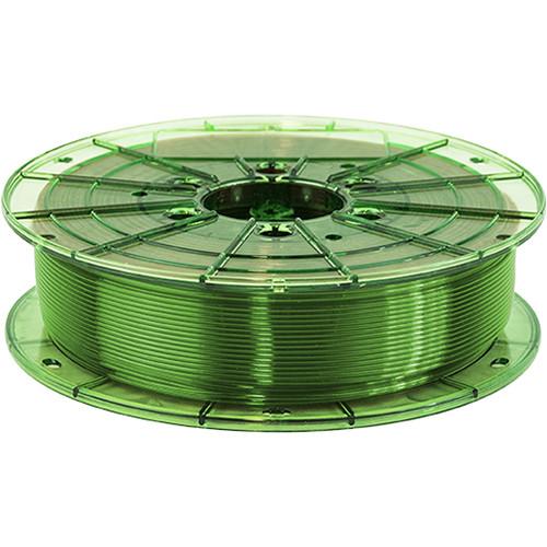 Leapfrog 1.75mm MAXX PRO Recycled PET-G 3D Printer Filament (750g, Translucent Green)