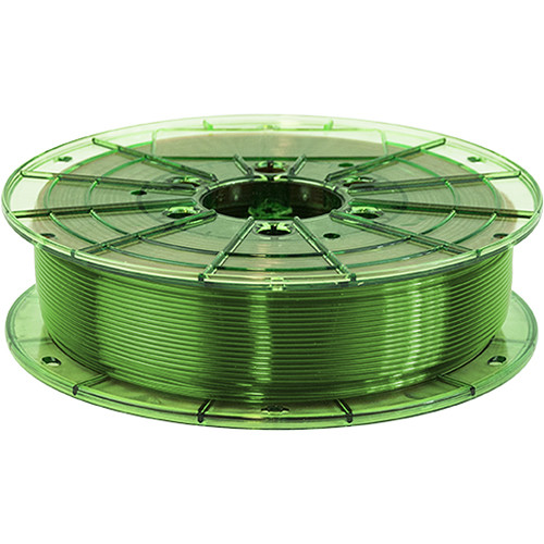 Leapfrog 1.75mm MAXX PRO Recycled PET-G 3D Printer Filament (750g, Translucent Green)