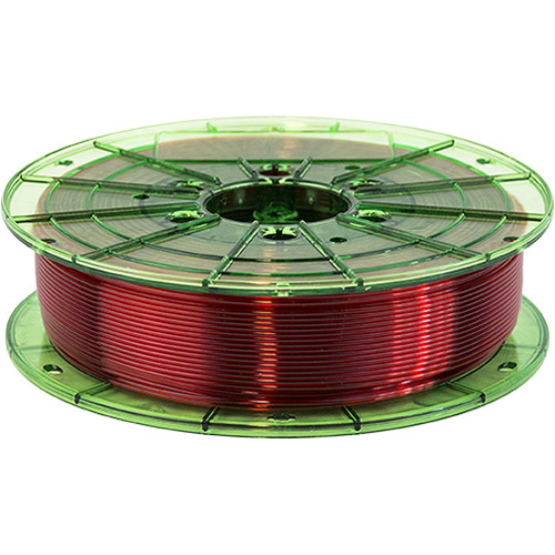 Leapfrog 1.75mm MAXX PRO Recycled PET-G 3D Printer Filament (750g, Translucent Red)