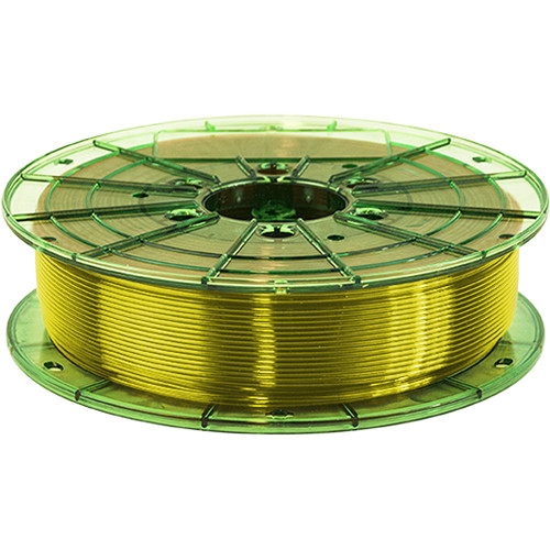 Leapfrog 1.75mm MAXX PRO Recycled PET-G 3D Printer Filament (750g, Translucent Yellow)