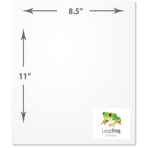 Leapfrog Print Stickers (25-Pack)