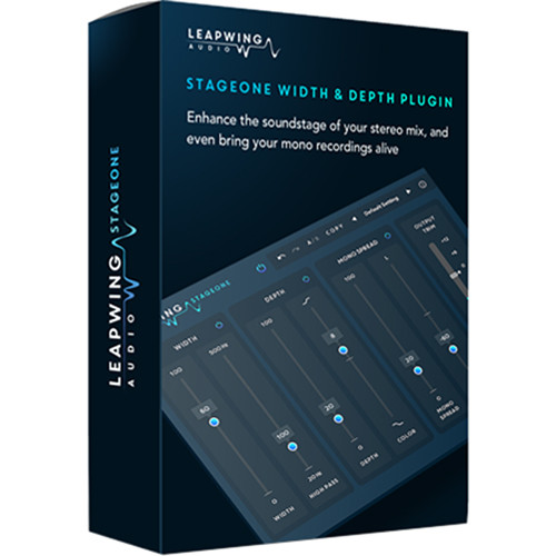 Leapwing StageOne - Stereo Width & Depth Processor for Mixing and Mastering Applications