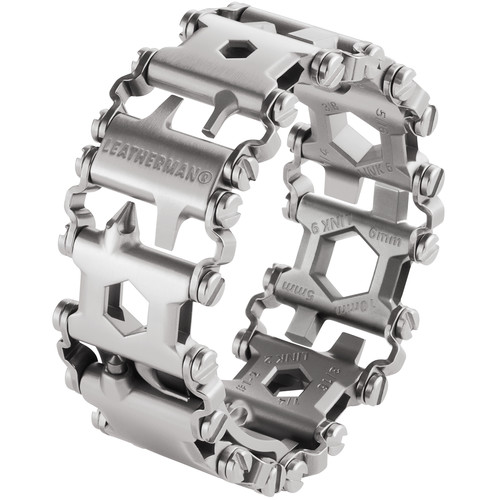 Leatherman Tread Multi Tool Bracelet (Stainless Steel, Clamshell Packaging)