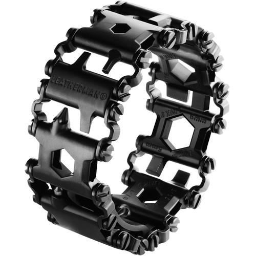 Leatherman Tread Multi Tool Bracelet (Black, Clamshell Packaging)