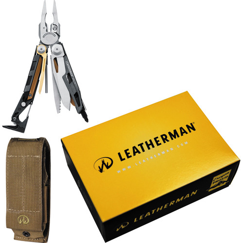 Leatherman MUT Multi-Tool with Brown MOLLE Sheath (Stainless)