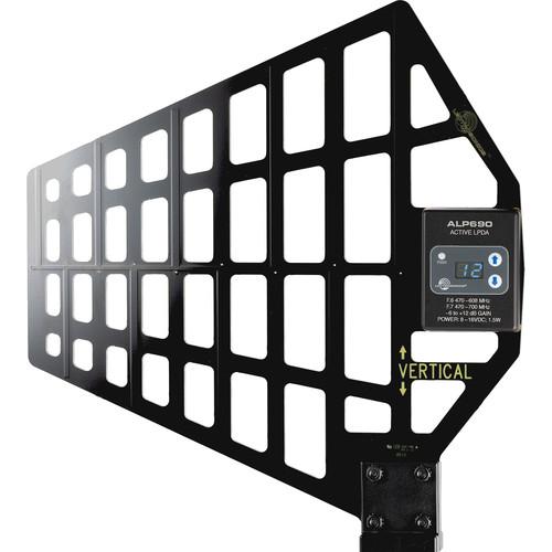 Lectrosonics ALP690 Active/Passive UHF LPDA Antenna (470 to 608/700 MHz)