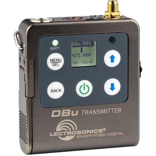 Lectrosonics DBu Digital Bodypack Wireless Transmitter (470 to 608 MHz)