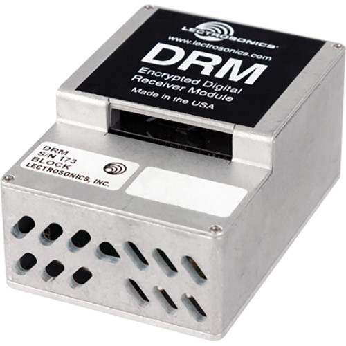 Lectrosonics DRM Encrypted Digital Receiver Module for DSW Wireless DR Receiver (Block 22)