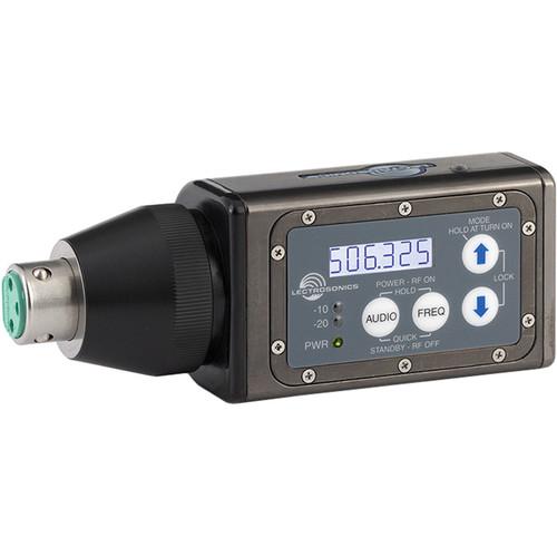 Lectrosonics HMa UHF Plug-On Wireless Transmitter (C1: 614.400 to 691.175 MHz)