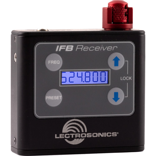 Lectrosonics IFBR1B Bodypack IFB Receiver (VHF: 174 to 216 MHz)