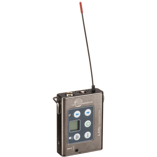 Lectrosonics LMb Digital Hybrid Wireless Beltpack Transmitter (B1: 537.600 to 614.375 MHz)