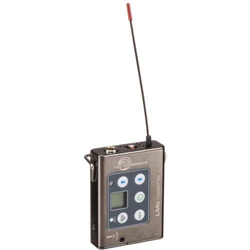 Lectrosonics L-Series LMb Bodypack Wireless Transmitter (B1: 537 to 614 MHz)