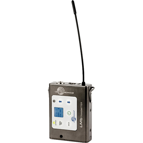 Lectrosonics LMb Digital Hybrid Wireless Beltpack Transmitter (C1: 614.400 to 691.175 MHz)