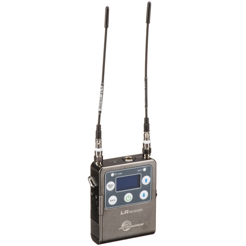 Lectrosonics L Series LR Camera-Mount Wireless Receiver (A1: 470 to 537 MHz)