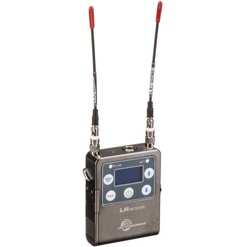 Lectrosonics L Series LR Camera-Mount Wireless Receiver (B1: 537 to 607 MHz)