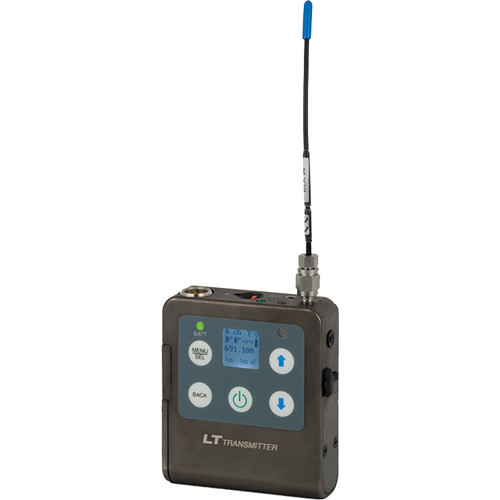 Lectrosonics L Series LT Bodypack Wireless Transmitter (A1: 470 to 537 MHz)