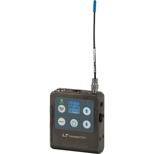 Lectrosonics LT Beltpack Transmitter (C1: 614.400 to 691.175 MHz)