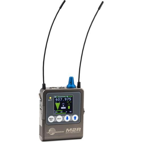 Lectrosonics M2R Digital IEM/IFB Receiver (470.1 to 607.975 MHz)