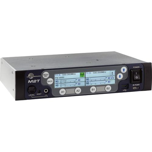 Lectrosonics M2T IEM Digital Half-Rack Transmitter with Dante (470 to 608 MHz)